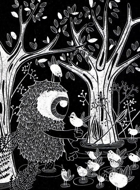 dialogue en forêt