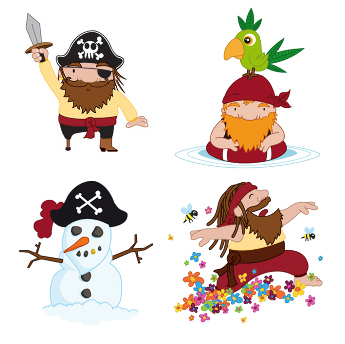Tous les pirates