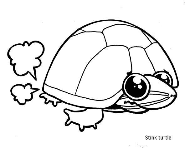 stink turtle nom